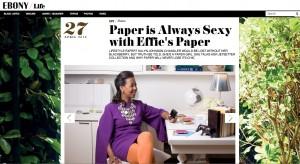 Ebony.com, Kalyn Johnson Chandler, effie's paper, stationery, stationary